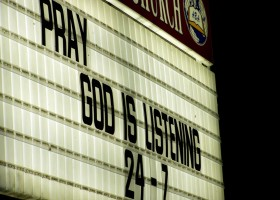 pray God is listening