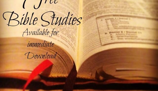 9 Bible Studies