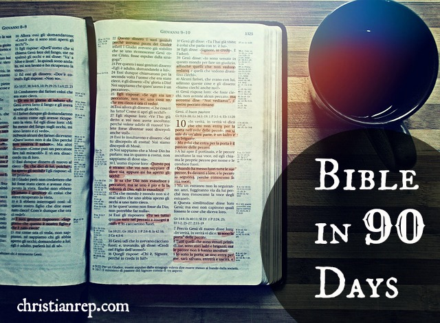 bible in 90 days