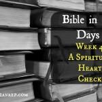 Week 4 Bible in 90 Days