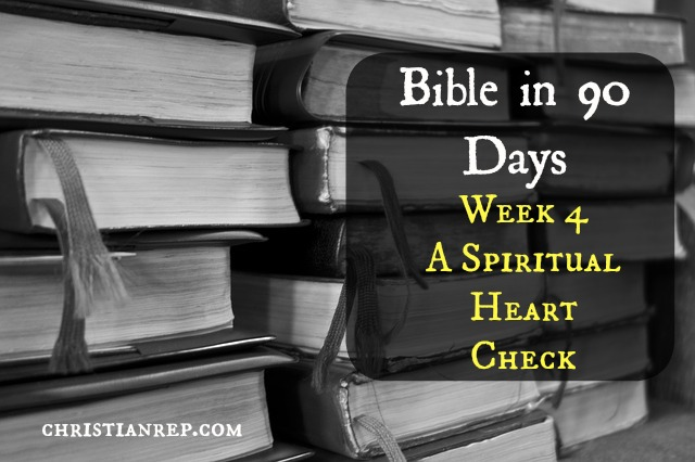 Week 4 Bible in 90 Days