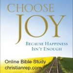 Choose Joy Bible Study