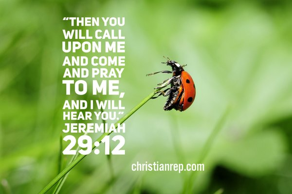 God WILL Hear You Jeremiah 29.12