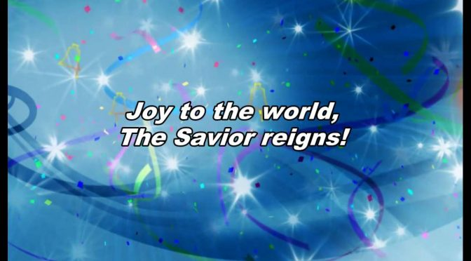 Joy To The World – Chris Tomlin