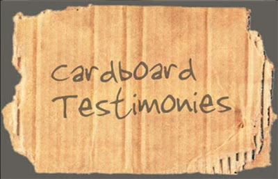 Cardboard Testimonies from East 91st St Christian Church