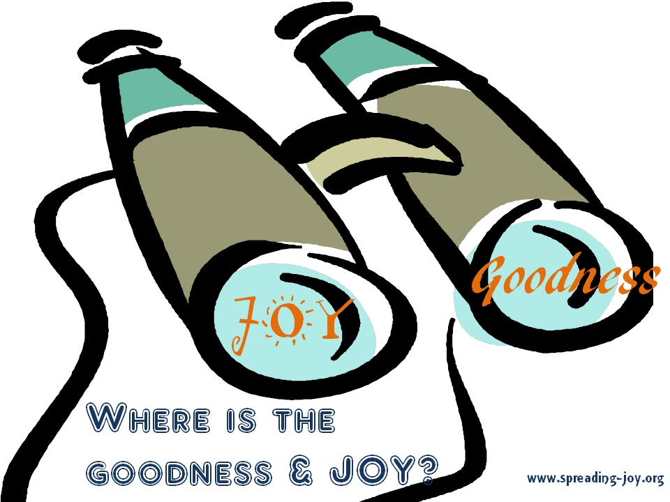 Where Is Goodness & Joy?