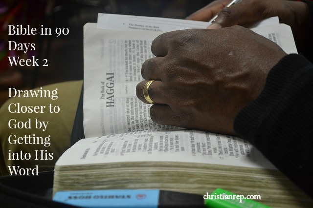 Week 2 Bible in 90 Days